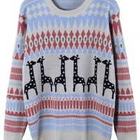 Favorite Ranking Zigzag Sweater - OASAP.com