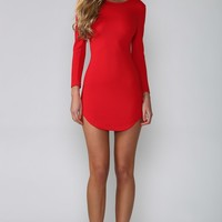 HelloMolly | Smoothie Dress Red