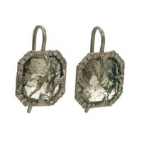 Rough Diamond Thorn Earrings