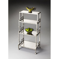 Metalworks Rectangular Mirrored Glass Four Shelf Etagere Butler Specialty Company Free Sta