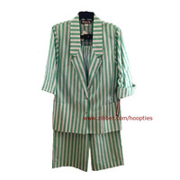 1970s NOS Pant Suit Summer Outfit Small to Medium