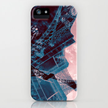 Eiffel Tower iPhone & iPod Case by KirbyLKoch | Society6