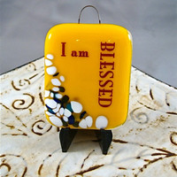 I am Blessed Mini Stand-up Plaque by Design4Soul