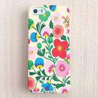 iPhone 6 Case, iPhone 6 Plus Case, iPhone 5S Case, iPhone 5 Case, iPhone 5C Case, iPhone 4S Case, iPhone 4 Case - Colorful Flowers