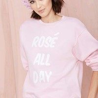 Nasty Gal x Private Party Ros? All Day Sweatshirt