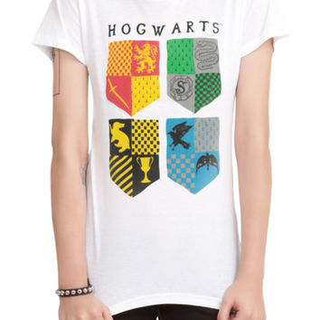 Harry Potter House Crests Girls T-Shirt