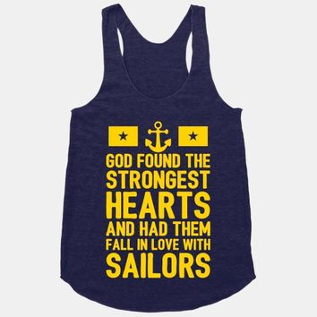 God Found The Strongest Hearts (Navy)