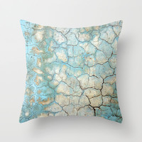 Corroded Beauty Throw Pillow by RichCaspian | Society6