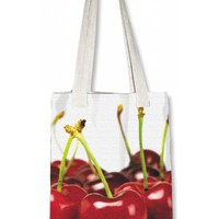 Cabas decoratif tendance &amp; design Cherry - Decorative designed shopping bag Cherry