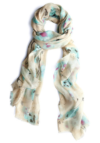 Blot Out a Route Scarf | Mod Retro Vintage Scarves | ModCloth.com