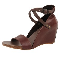 LiliMill Ankle Strap Wedge