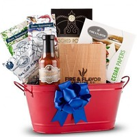 Gourmet Grill Basket for Father's Day - Perfect Gift for the Grill Master - Whimsical & Unique Gift Ideas for the Coolest Gift Givers