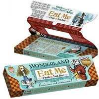 Eat Me Bar - Alice in Wonderland Fruit &amp; Nut Bar - also an activity kit!  - Whimsical &amp; Unique Gift Ideas for the Coolest Gift Givers