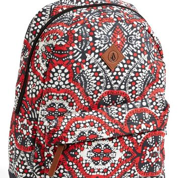 Volcom 'Supply' Canvas Backpack (Juniors)