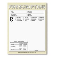 Prescription Nifty Note Pad - Whimsical & Unique Gift Ideas for the Coolest Gift Givers