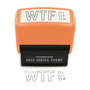 WTF Self-Inking Stamp - Whimsical & Unique Gift Ideas for the Coolest Gift Givers