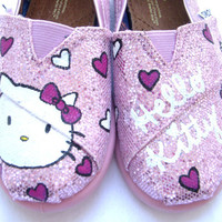 The Kitty - Hello Kitty Custom TOMS