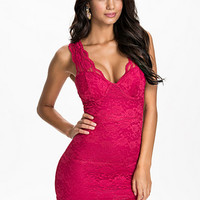 Cups Lace Dress