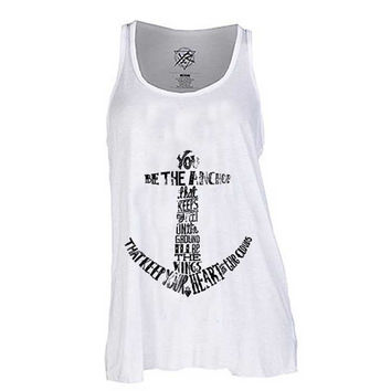 Mayday Parade You Be The Anchor for Tank Top Mens and Tank top Girls