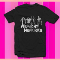 midnight memories one direction shirt mens womens all size