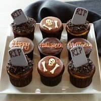 More® Personalized Halloween Graveyard Cupcakes, Set of 9