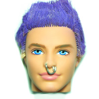 BLUE EYED BARRY KEN DOLL RING