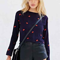The Whitepepper Bean Cropped Top - Urban Outfitters