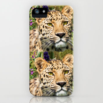 LEOPARD BEAUTY iPhone & iPod Case by Catspaws | Society6