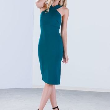 Let The Races Begin Bodycon Dress
