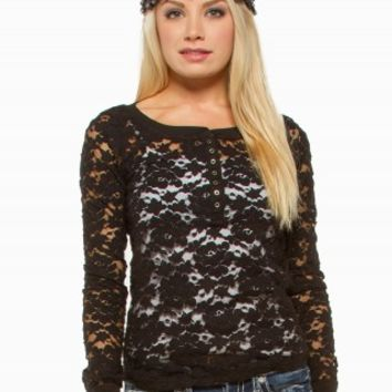 LACE HENLEY BASIC