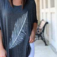 Light as a Feather {Charcoal}
