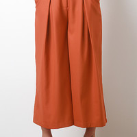 Solid Pleat Trousers