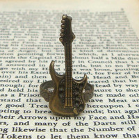Guitar  Adjustable Brass Ring