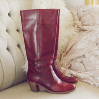 Vintage Dex Campus Boots - Autumn