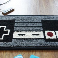 NES Nintendo Controller Rug by WTCrafts on Etsy