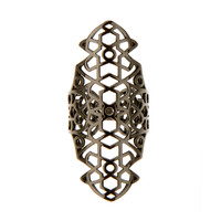 REPOSSI BLACK GOLD MAURE RING