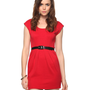 Double Knit Dress w/ Belt