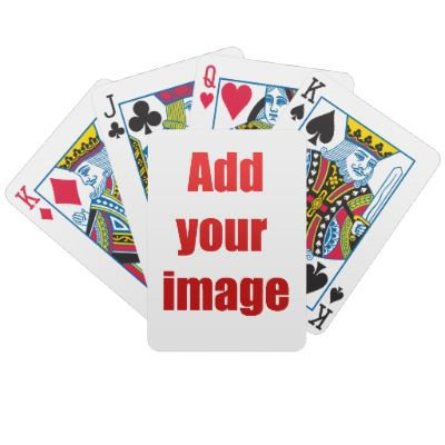 Custom Playing Cards From Zazzlecom Zazzle DIY