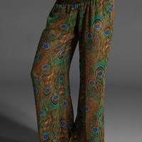 SHOW ME YOUR MUMU Tipsy Pant in Peacock at Revolve Clothing - Free Shipping!