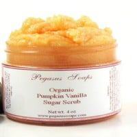 Organic Pumpkin Vanilla Sugar Scrub.. on Luulla