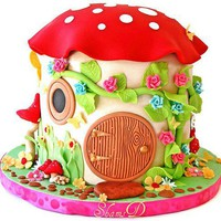 Cake / Toadstool House Cake | Flickr ? Compartilhamento de fotos!