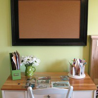 "Classic Bulletin Board or Chalk Board  26"" x 20"""