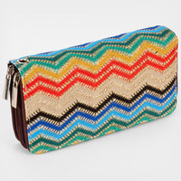 Sparkly Zig Zag Wallet