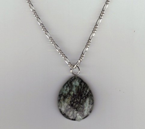Wild Ivy Design | Sterling Silver moss agate necklace*Price Reduced* | Online Store Powered by Storenvy