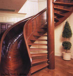 Spiral Staircase Slide