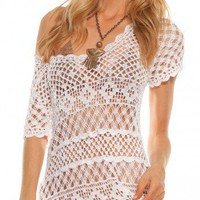 Beauty & The Beach Karlie Crochet Tunic