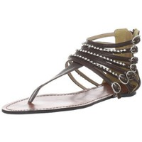 Gomax Women`s Ares Sandal,Brown,6.5 M US