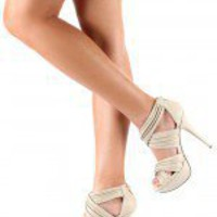 Miss Me Sonic-4 Pleated Open Toe Sandal