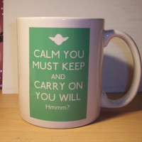 Star Wars Keep Calm and Carry on mug