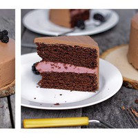 Always With Butter: Chocolate Blackberry Cake